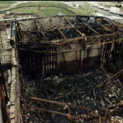 nach dem Brand 1995